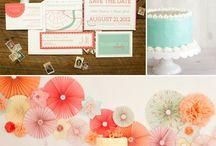 < Palette couleur pour réceptions,fête& mariage! >