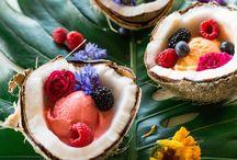 [ Recettes...glacée! ] / Inspiration pour..ice  cream  , cube de glace, Frozen yogurt , fruit pops, creamsicles....!