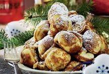 6 skønne julelækkerier med æbler / Julens æbler kommer i mange former, farver og faconer – her byder vi på: Æbleskiver Kandiserede æbler Æble-tranebær kompot Æbleskiver med svesker Æbleflæsk Æbler med gele