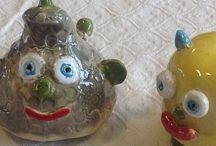 Børnekunst. Fra mit kreative værksted. / Kids craft