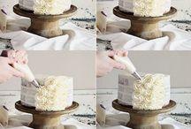 < Comment faire?? & Décoration pour gâteau, cupcake, cookie....! >