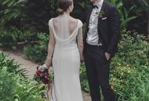 SH BRIDE: JANINE & MATTHEW / A magical wedding at Vaucluse House, Sydney. Janine wore a Suzanne Harward simple elegant silk gown which cast an incredible blank canvas for those blooming blooms by Oh Me Oh My Botanica. The entire day captured beautifully by Nicholas Joel Photography.