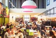 Maastricht University Architecture / Explore your new home away from home at the Student services center in Maastricht. This is where you'll be able to meet the friendly and dedicated CES staff, as well as attend most of your classes.