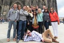 Study Trip: Germany / See our students on their student tour through Germany.
