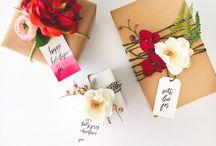 { WrApiNg! } / Cadeaux, lettres, fleurs, ....!
