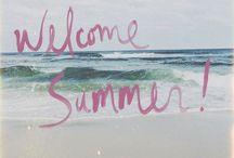- Summer - / Tableau éducatif ( cycle des saisons ) & photographies de la saison été !