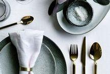 •  T A B L E S C A P E S  • / Wedding tablescape inspiration...
