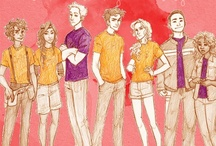 Percabeth and Peanut Butter / The Percy Jackson and Heroes of Olympus Series, by Rick Riordan.   This is the place for general fangirling over these books.  / by BlissfulNinja