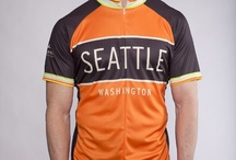 Seattle and Washington State Cycling Jerseys / Kaidel Sportswear's cycling jerseys celebrating riding in Washington state. Designs feature Seattle, the Space Needle, Tacoma, Bellingham, the San Juan Islands, Bainbridge Island and more.