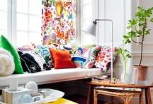Rooms / bright, cheerful, bit retro, bit boho