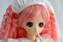 Parabox Sleeping Princess (1/3 scale) / Parabox Sleeping Princess heads are available at http://parabox.jp/eng_new/para_hime.html