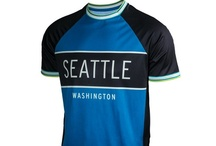 Men's Seattle Running Shirts / Performance men's running shirts, jackets and hats featuring Seattle graphics and colors on quality technical fabrics.
