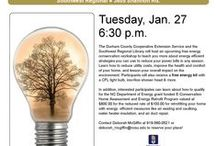Free Energy Conservation Workshop in Durham, NC on Jan. 27! / The Durham County Cooperative Extension Service and the Southwest Regional Library will host a free energy conservation workshop on Tuesday, Jan. 27 at 6:30 p.m. to be held at the library at 3605 Shannon Rd. in Durham. Contact Deborah McGiffin at (919) 560-0521 or at deborah_mcgiffin@ncsu.edu to register. http://energy.ces.ncsu.edu/2014/12/energy-conservation-workshop-durham-tuesday-jan-27-630-p-m/ / by E-Conservation Home Energy