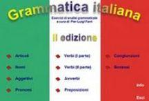 italian grammar/vocab / by Roberta Foster
