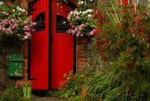 At The Door....