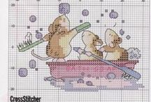 Cross Stitch baño