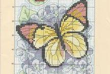 Cross Stitch Mariposas