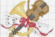 Cross Stitch Music