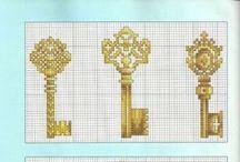 Cross Stitch Keys