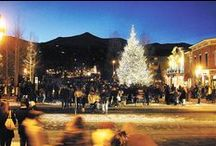 Holidays in Breckenridge and Summit / Breckenridge, Colorado during the holidays can be one of the most rewarding times to be in the high country ... our towns truly transform into a holiday paradise, and we never worry about enjoying a white Christmas!