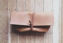 Leather accessories - inspiration