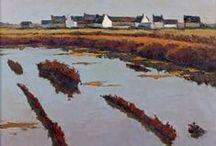 Emile Mangenot / peintre paysagiste