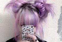 ♥Hair♥ / Rainbow hair everywhere♥♥