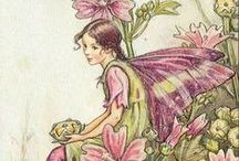 Cicely Mary Barker / English painter and illustrator  (28 June 1895 – 16 February 1973)