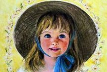 Frances Arnold Hook / American painter and illustrator