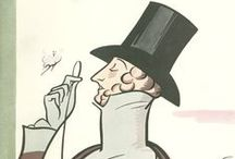3-The New Yorker / Rea Irvin /  (August 26, 1881—May 28, 1972) was an American graphic artist. Although never formally credited as such, he served de facto as the first art editor of The New Yorker. He created the Eustace Tilley cover portrait and the New Yorker typeface. He first drew Tilley for the cover of the magazine's first issue on February 21, 1925. Tilley appeared annually on the magazine's cover every February until 1994.
