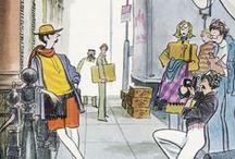 6-The New Yorker /  Charles Saxon /  American cartoonist 1920-1988