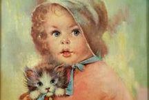 Children illustrations / Illustrations and postcards