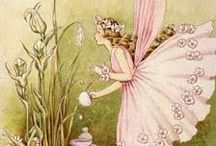 Ida Rentoul Outhwaite / Ida Rentoul Outhwaite, also known as Ida Sherbourne Rentoul and Ida Sherbourne Outhwaite (9 June 1888 – 25 June 1960), was an Australian illustrator of children's books. Her work mostly depicted fairies.