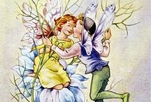 Rene Cloke / ( Irene Mabel N. Cloke, Plymouth, 8 October 1904; died 1 October 1995) was a children's book and postcard illustrator who also contributed to UK nursery comic annuals