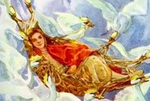Helen Stratton / Helen Isobel Mansfield Ramsey Stratton (1867–1961) was an English artist and book illustrator.