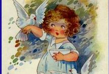 Agnes Richardson / Agnes Richardson (1885 -1951) was born in Wimbledon, London. She worked as a painter, book illustrator, and designer of greetings cards