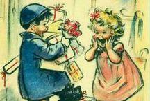 Germaine Bouret / French illustrator . 1907 -1953