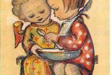 Berta Hummel aka M I Hummel / Sister Maria Innocentia Hummel, (21 May 1909 - 6 November 1946) was a famous German Franciscan Sister and artist. She was born in Massing in Bavaria, Germany, as Berta Hummel . She died of tuberculosis at the age of 37