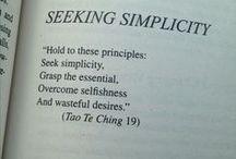 Enkelheten / #minimalism