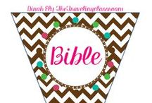 Bible / by Dinah Ely The Traveling Classroom