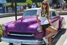 classic cars and fashion