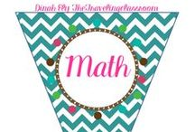 Math / by Dinah Ely The Traveling Classroom