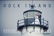 "Destination Weddings in the 1000 Islands / Everyone agrees: the 1000 Islands is one of the most picturesque places to hold your wedding or reception.  Clayton Island Tours can assist you with your plans, whether your wedding is taking place on a private island,  Boldt Castle, Rock Island, or Singer Castle.  We'll meet you ""anywhere,"" and shuttle your guests for your ceremony and/or reception.  Our boats are also available to host small wedding ceremonies, receptions, rehearsal dinners, bachelorette, or bachelor parties on board!"