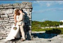 Kara & Vince Hill Destination Wedding / Photographs from a beautiful destination wedding in Playa del Carmen Mexico.
