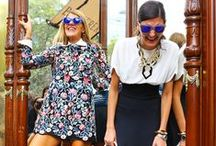 Style icons / These are the voyages of the stye icons: Miroslava Duma, Ulyana Sergeenko, Giovanna Battaglia, Zoey Saldana into the abiss of fashion