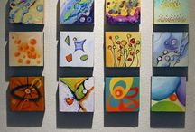 Canvas Art Projects / Projects done on Canvas