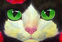 Illustrated cats / by Gabriela Zúñiga