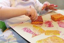 Toddler projects to Try / Projects to try with an energetic toddler. Promoting creativity