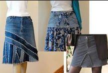 Vêtement en jeans