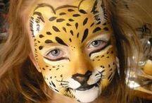 Facepainting - zvířata